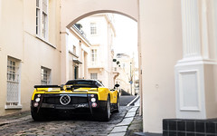 Zonda F. (Alex Penfold) Tags: pagani zonda f supercars supercar super car cars autos alex penfold yellow londo 2017