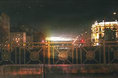Vienna (Carina Aurora in Wonderland) Tags: city citylife vienna nightshot nightsky sundown austria sunset cloudy clouds mood moody christmastime christmas winter road roadtrip