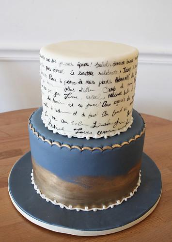 Script Poem Cake
