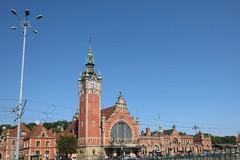 Gdańsk Głowny (qatsi) Tags: poland gdansk danzig tower station clock