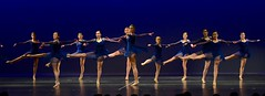 Blue number.... (R.A. Killmer) Tags: dance danceworkshopbyshari dancer blue sync spin cute teens girls stage performance performer costume