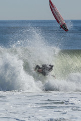 Surfing at Asbury Park (Erin Cadigan Photography) Tags: asburypark beach board boardwalk break breakers coastal daylight daytime famous jerseyshore landmark newjersey nj ocean old outdoors radical sea sport sunny vertical wet