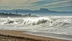Sortie à la Barre d'Anglet le 10-12-2016 (Filigrane)-13 (yoyolg33) Tags: vert paysbasque côtebasque merocéanplageangletplagedelebarre