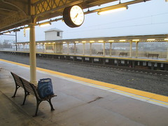 Lancaster Train Station 2017 PA 0545 (Brechtbug) Tags: lancaster train station january 22nd 2017 pa pennsylvania trains bus facade penna holiday with clock transportation architecture building railroad buses profile amtrak 01222017 commuting art waiting room platform tracks