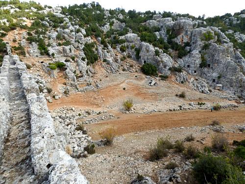 Olba - aqueduct view (2)
