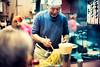 Cheerful Yakisoba Chef (Jon Siegel) Tags: nikon nikkor d810 50mm 12 nikon50mmf12ais 50mmf12 men man people dining dinner yakisoba noodles chef cooking food evening kitchen master night shinjuku tokyo japan japanese