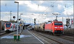 DB Cargo 152 142 | Neuwied (OVNL) Tags: db dbc dbs deutsche bahn cargo schenker rail adtranz siemens br 152 142 kessel zug stadler flirt neuwied bahnhof bf