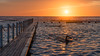 Sun Stroke (scotty-70) Tags: sony zeiss a7 swim water sunrise sun golden pool ocean nsw