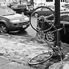 018/365 (local paparazzi (isthmusportrait.com)) Tags: 365project canon5dmarkii 50mmf14usm ef eos lopaps pod 2017 iso200 redskyrocketman localpaparazzi isthmusportrait madisonwi danecountywisconsin black white contrast upsidedown faceplant wtf strange oddity tires found bicycle isthmus texture wheels pole locked latched prime aperture sharpness detail clarity raw cr2 canonraw photoshopelements7 sidewalk pavement melting snow slush forgotten lost missing 50mm f14 usm gears seat bikechain chain bikeseat vertical vertigo