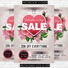 Valentine Day Sale - Premium Flyer Template (ExclusiveFlyer) Tags: exclusiveflyer psd freeflyer freepsd diadesanvalentin fiesta happyvalentinesday happyvalentines heart kiss love loveday lovers night noche party red romantic