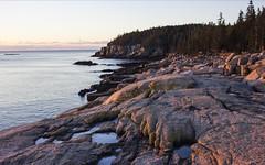 ocean path (jirfy) Tags: acadia national park atlantic ocean coast coastline cliffs path hiking trail bar harbor maine new england northeast usa united states nature alpine granite
