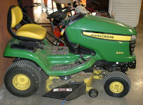 2012 John Deere Riding Mower ($2,145.00)