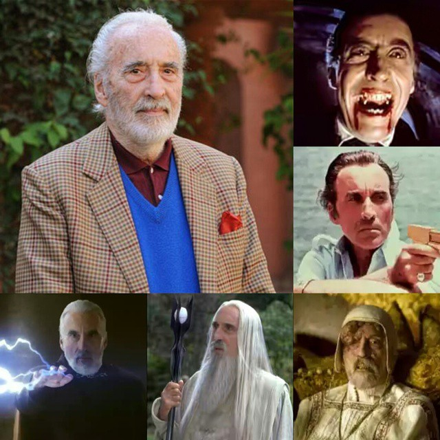 R.I.P Sir Christopher Lee. A legend is gone at 93 (a good age though).  Christopher Lee as Dracula, Scaramanga(James Bond: The Man with the Golden Gun), COUNT DOOKU(Star Wars), Saruman(Lord of the Rings) and Cardinal DAmbroise(Season of the Witch). Rest