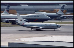 K2413 - London Heathrow (LHR) 22.07.1993 (Jakob_DK) Tags: 1993 lhr egll heathrow k2413 indianairforce boeing boeing737 737 b737 737200 b732 b737200 boeing737200 londonheathrow londonheathrowairport heathrowairport ifc