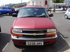 1999 Chevy Blazer S10 (Rorymacve Part II) Tags: auto road bus heritage cars chevrolet sports car truck automobile estate transport historic chevy motor saloon blazer compact roadster motorvehicle chevyblazer chevroletblazer worldcars blazers10 chevroletblazers10 chevyblazers10