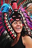 (Herbey Morales Travel & Lifestyle Book) Tags: portrait mexico nikon retrato culture happiness tradition cultura tradicion azteca danzante conchero