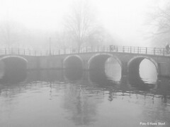 Mist (kees.stoof) Tags: bridge mist prinsengracht brug grachten reguliersgracht