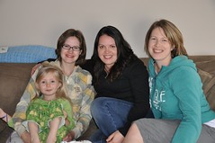 Had a lovely visit with Melle and Anna :)
