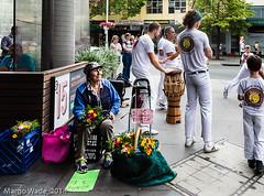 $5 a bunch (Photoma*) Tags: street flowerseller