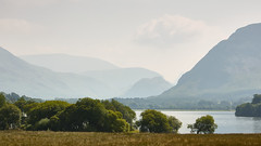 By Loweswater (Future-Echoes) Tags: trees lake landscape haze scenic cumbria loweswater thelakedistrict 2013