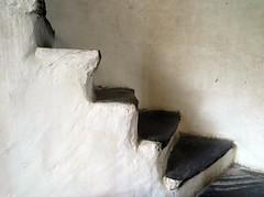 Zig Zag (pienw) Tags: white stairs staircase wallis zigzag castlechurch raron burgkirche churchofstroman