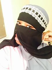 ZipNiqab (ZipNiqab) Tags: black fashion eyes veil braces muslim hijab muslimah modesty zipper niqab faceveil zip modest burqa niqabi purdah khimar  islamicclothing cadar  islamicfashion pee zipniqab niqabwithzipper eatwithniqab munaqabah