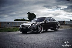HRE Merc S Class (Jordan Donnelly) Tags: mercedes euro montreal wheels jordan german rims luxury amg stance hre donnelly tains s550 s63 tw0r