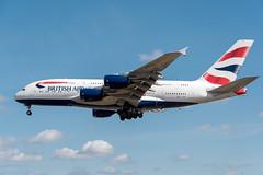 British Airways A380-841 G-XLEI (happyrelm) Tags: heathrow aircraft jets airbus a380 ba airlines britishairways airliner lhr egll a388 a380841 cn173 gxlei lhrheathrowairlinersairlinesegll