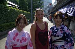 Suus met geisha achtige dames