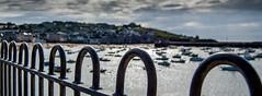 Railings (nds6346) Tags: ocean sea seascape water landscape coast seaside nikon harbour coastline nikond40