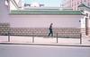 Paris... (Bourguiboeuf) Tags: rance french argentique analog pellicule film canon af35 kodak portra 160 bourguiboeuf 135 35mm color couleur lieu place people fille girl gens man paris france arab ishootfilm ibelieveinfilm filmisnotdead filmfeed city cityscape ville grande mosquée street rue pavement walk pieton walker redhead
