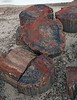 Petrified Wood (Ron Wolf) Tags: agate chinleformation earthscience geology mesozoic nationalpark paleontology petrifiedforestmember petrifiedforestnationalpark quartz triassic crosssection fossil log mineral mineralogy nature petrifiedwood arizona
