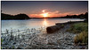 Ruins of the Ferry Wharf (juliewilliams11) Tags: outdoor sunset shore photoborder landscape cokin gnd filter cloud pink remains history portstephens tilligerrypeninsula newsouthwales australia mangrove wood