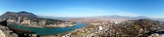 View across Shkodra, from Rozafa Catle