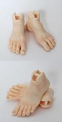 Picot Prince feet (customlovers) Tags: blushing