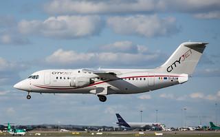 Cityjet Avro RJ85 EI-RJO DUB 31/03/2016