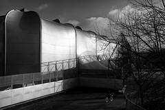 Le Zénith, parc de la Villette, Paris (johann walter bantz) Tags: moderne modernart avantgarde architecture blackwhite 35mm nikond4s paris villette parcdelavillette zénith