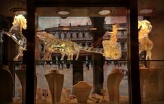 The Glass Manègerie (jjamv) Tags: jjamv julesvtravel venice sanmarco piazzasanmarco veneto italia italy window square glass glassware murano art venezia venecia venise veneza venedig architecture building microsoftlumia930 lumia930 palazzi palaces dogespalace travelphotography gondolas unesco worldheritage unescoworldheritagesite 2017 stmarkssquare grandcanal texture textured glasssculptures objectsofartglass sculpturesandstatues homedecor glasscrystalhorse pixsy cristaleria horsesandchariot 威尼斯 베니스 ונציה vetrodimurano muranoglass creativewindows