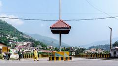 Bridge/Road (fvfavo) Tags: bridge crossing india road mandi himachalpradesh indien in