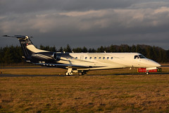 OE-IIM Embraer Legacy 600 EGPH 29-12-16 (MarkP51) Tags: oeiim embraer 135bj legacy 650 bizjet corporatejet edinburgh airport edi egph scotland aviation aircraft airplane plane image markp51 nikon d7200 aviationphotography