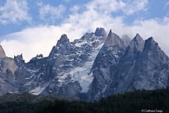 Chamonix Mont blanc (catherinelange) Tags: beauty nature cloud sky cold temperature day landscape mountain peak range no people outdoors scenics snow sunbeam travel destinations winter
