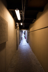 Alley between Pontocho and Kiya-machi (sess48) Tags: canon 5dmarkiv ef2470mmf28liiusm kyoto pontocho kiyamachi alley