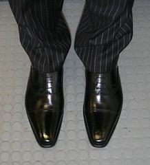 img_9248_2819557630_o (shinydressshoes) Tags: dress shoes dressshoes shiny shinyshoes patent leather formal oxfords pointed balmorals sheer sheers socks sox lackschuh anzug suit tux tuxedo shoeporn lackschuhe laceup