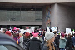 """""""This Makes Me Sad"""" (railsnroots) Tags: demonstrations first amendment womens march protest signs"""