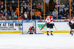 "Missouri Mavericks vs. Cincinnati Cyclones, January 25, 2017, Silverstein Eye Centers Arena, Independence, Missouri.  Photo: John Howe / Howe Creative Photography • <a style=""font-size:0.8em;"" href=""http://www.flickr.com/photos/134016632@N02/32558226705/"" target=""_blank"">View on Flickr</a>"
