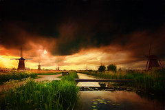 A picture from the past... (radonracer) Tags: holland kinderdijk niederland niederlande painted