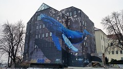 Anamorphosis (Mohid Fotografie) Tags: zagreb street murals zagrebstreetmurals anamorphosis giant whale giantwhale