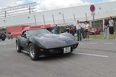 Corvette (xwattez) Tags: auto old france chevrolet car automobile expo voiture exposition american transports corvette ancienne saintgaudens 2015 véhicule américaine