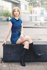Carol Marcus - Star trek - Cosplay - FedCon (saroston) Tags: startrek trek star marcus cosplay carol scifi fi khan sci