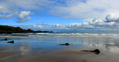 Photo of Coldingham Bay Sand Mirror, Berwickshire